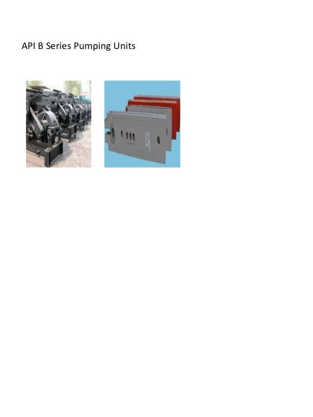 API B Series Pumping Units