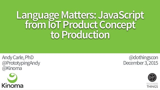 LanguageMatters:JavaScript