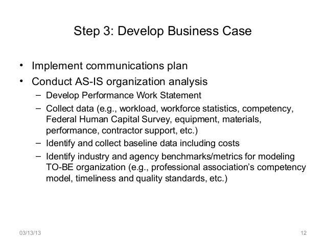 work statement examples