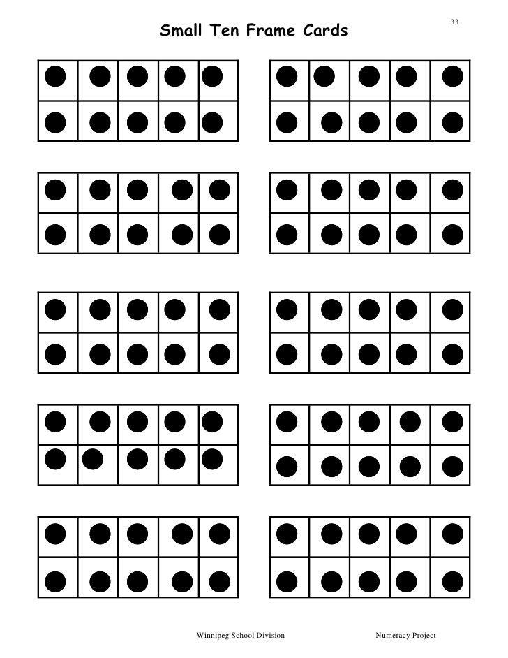 Modern Printable Ten Frames Kindergarten Worksheets Free Blank Frame ...