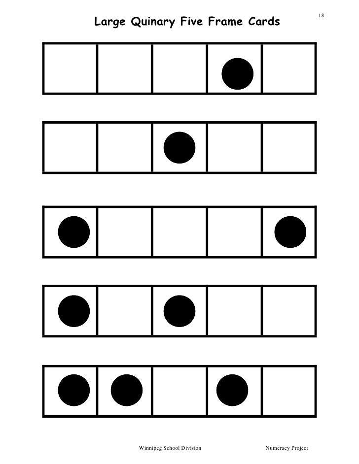 Dot Card and Ten Frames