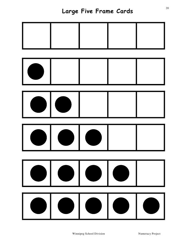 Dot Card and Ten Frames