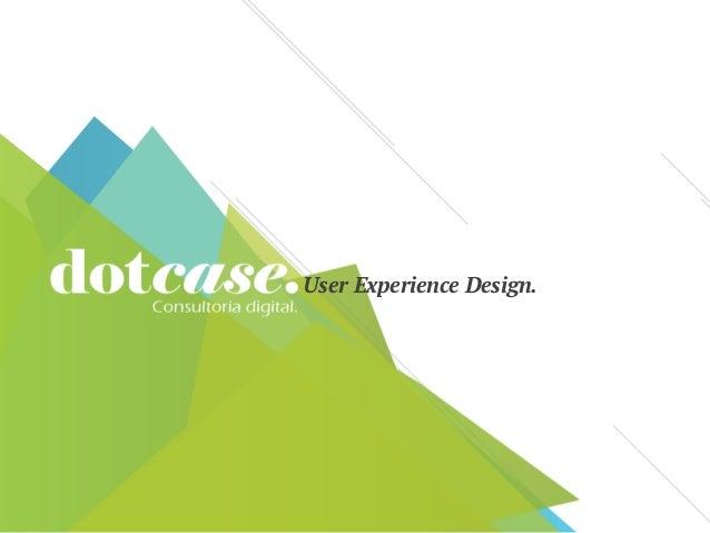 User Experience Design.