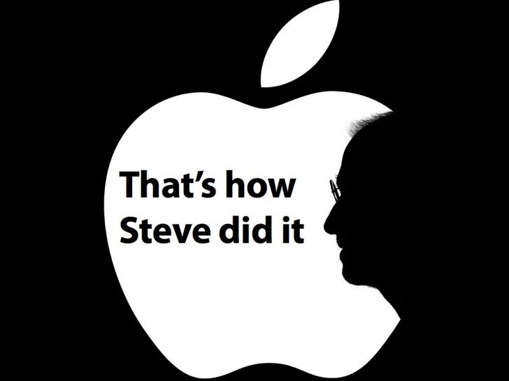 What if you have to deliver a Steve Jobs keynote??