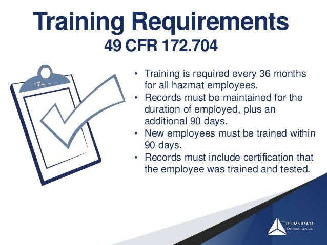 Regulatory Training Who Needs It And How Much