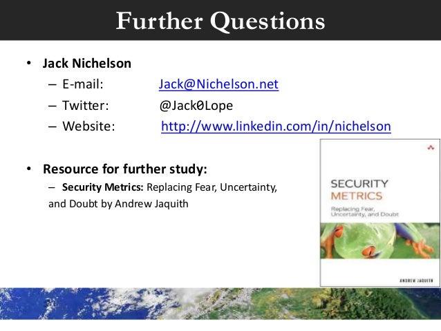security metrics andrew jaquith pdf