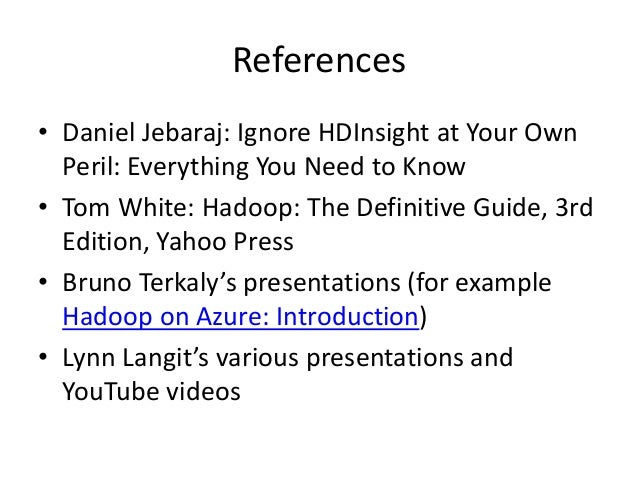 hadoop the definitive guide pdf github