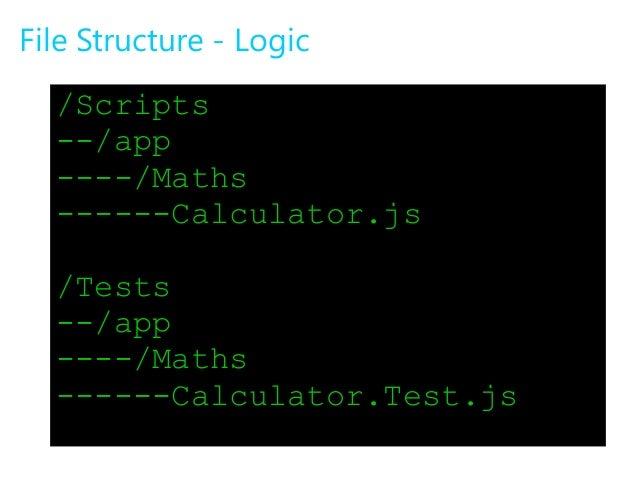 sample node js application in visual studio