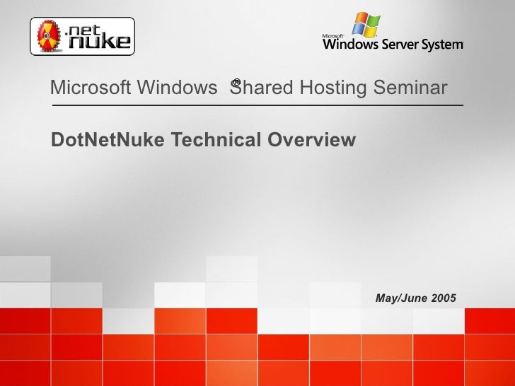 DotNetNuke Technical Overview