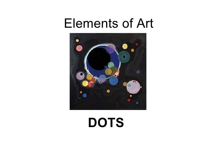 Elements of Art DOTS