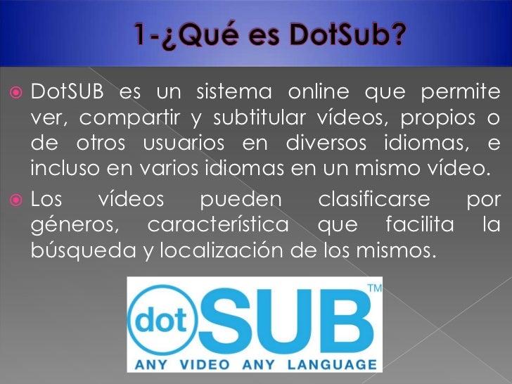 Working at Dotsub