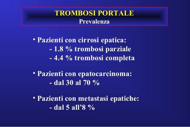 Epatopatie diffuse - Ipertensione portale