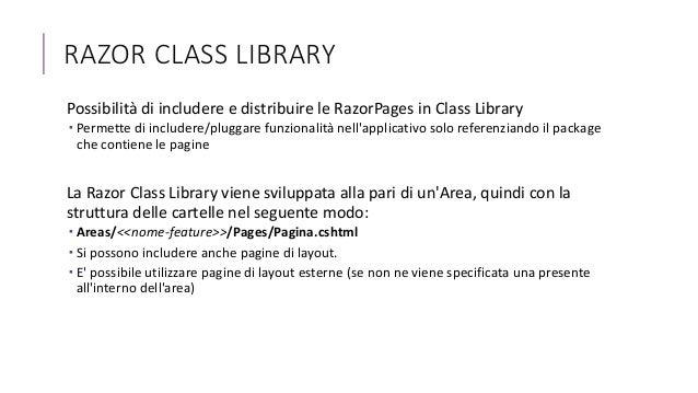ASP NET Core - Razor Pages