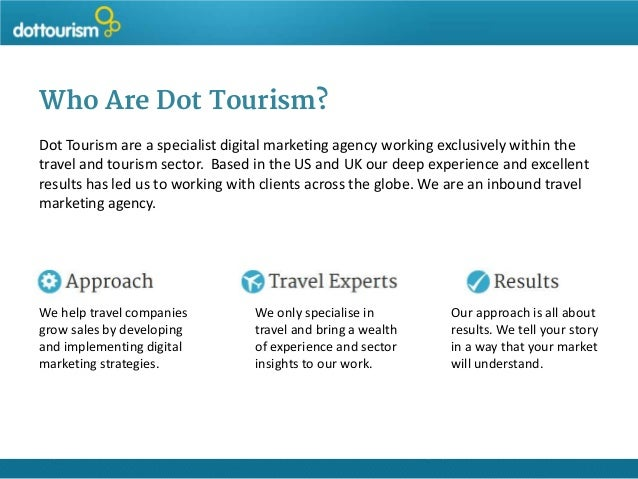 marketing of travel tourism sector