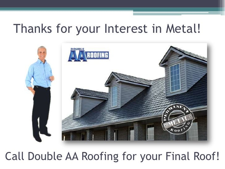 Why Install Metal Roofing