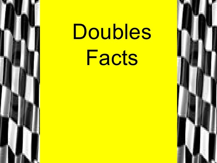 Doubles Facts
