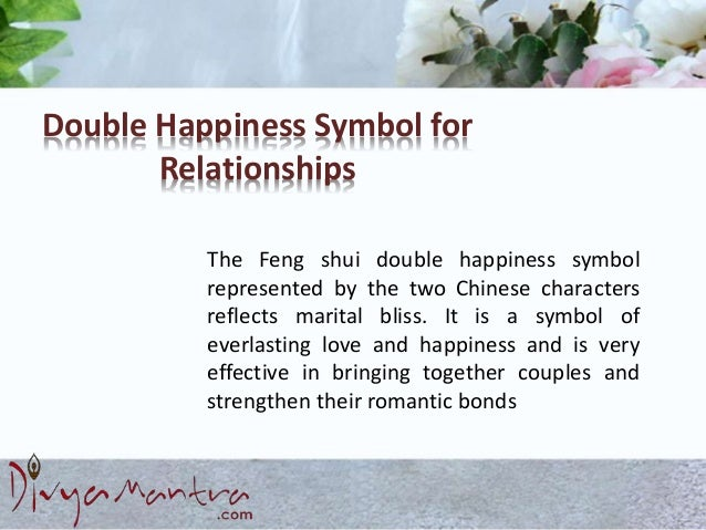 Double Happiness Symbol For Relationships