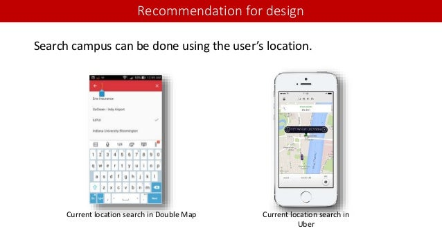 Double map App - Usability Evaluation on