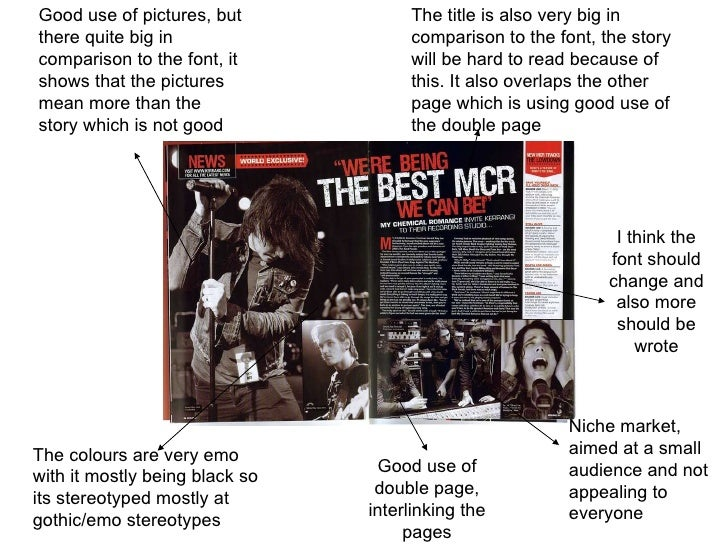 Good use of pictures, but there quite big in comparison to the font, it shows that the pictures mean more than the story w...