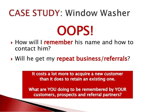 how to not lose touch with customers business