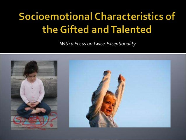 "twice exceptional students with adhd characteristics Adhd and gifted: the twice exceptional gift that keeps on giving posted on november 17, 2012 by larry • 0 comments the notion of ""gifted"" – highly capable has expanded through the years to."