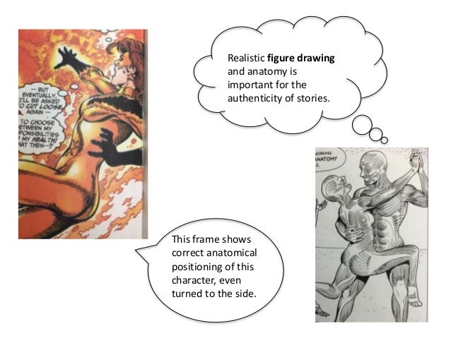 Realistic figure drawing and anatomy is important for the authenticity of stories. This frame shows correct anatomical pos...