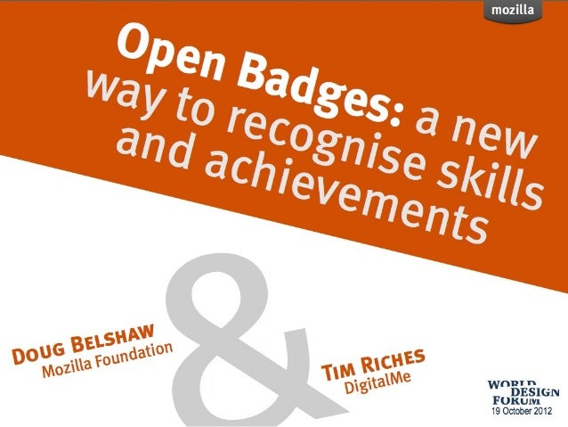 Creating Learning Desire Engines with Mozilla Open Badges