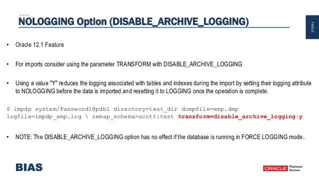 Optimizing your Database Import!