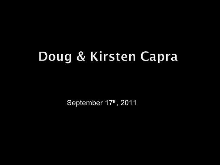 September 17 th , 2011