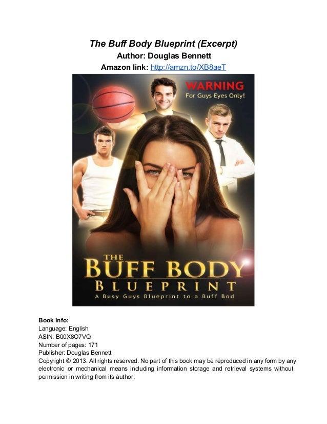 TheBuffBodyBlueprint(Excerpt)                           Author:DouglasBennett                        Amazonlink:ht...