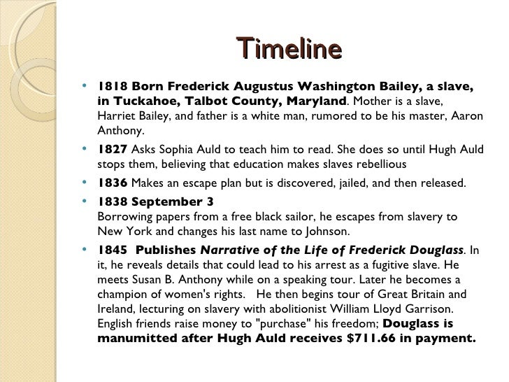 frederick douglass religion essay The experience of frederick douglass frederick douglass was born in slavery as frederick augustus washington bailey near and there experienced religion.