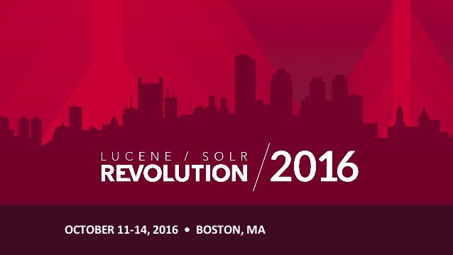 OCTOBER	   11-­‐14,	   2016	   	   •	   	   BOSTON,	   MA