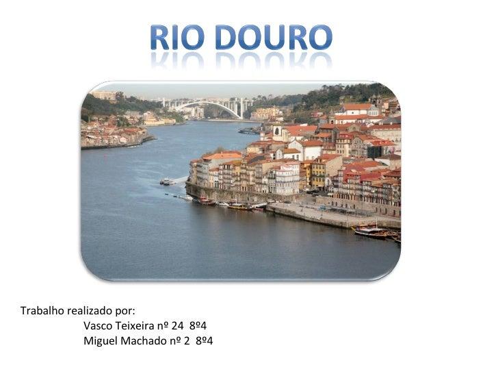 Trabalho realizado por: Vasco Teixeira nº 24  8º4 Miguel Machado nº 2  8º4