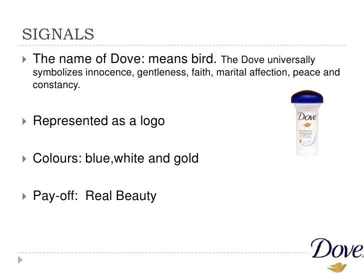 "The brand identity of ""Dove"" Slide 2"