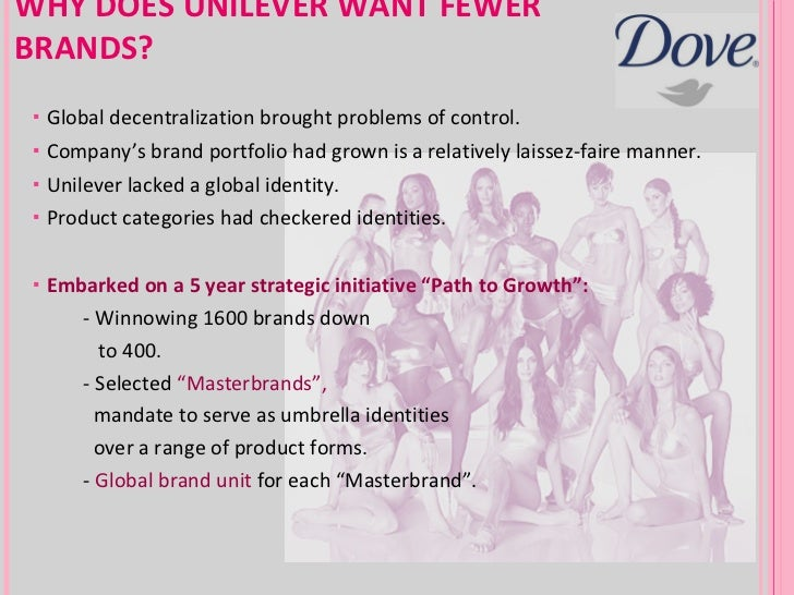 dove the evolution of a brand On its way to becoming a mega beauty brand, dove continues to maintain the highest levels of investment in the market as well as expanding its product portfolio.