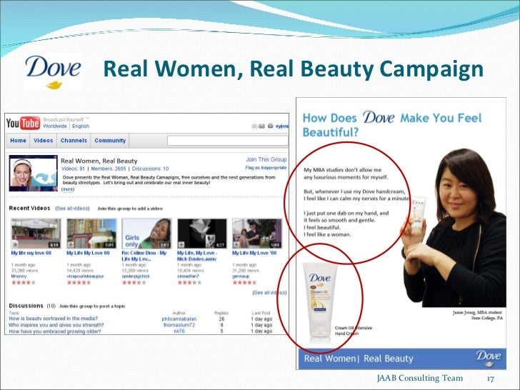 a case study on dove a consumer product brand Featuring real women in advertising has been an integral part of the dove brand's dna dating back to the introduction of the dove beauty bar in real beauty shines through: dove wins titanium grand prix, 163 million views on youtube jun 2013 case study jun 2014 youtube creator.