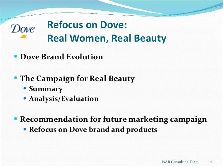 dove campaign for real beauty case study