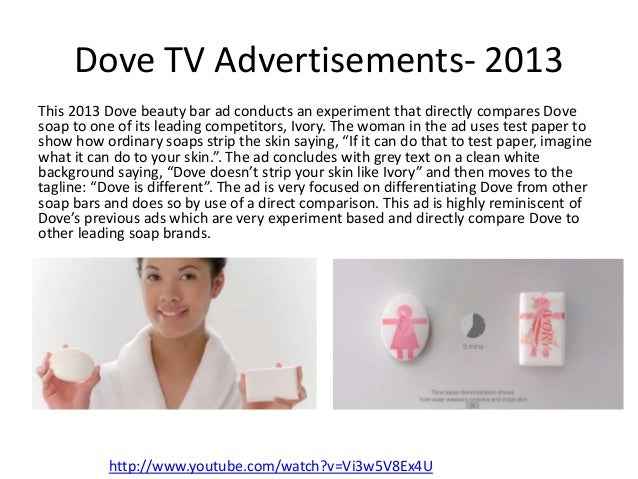 case study of dove soap Extendonomics: 10 ways to extend your case study: choosing companions dove established a foothold with soap.