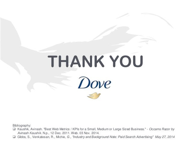 [Dove] Search and Digital KPIs