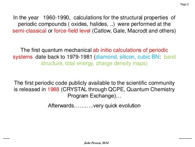On the role of quantum mechanical simulation in materials science.  Slide 3