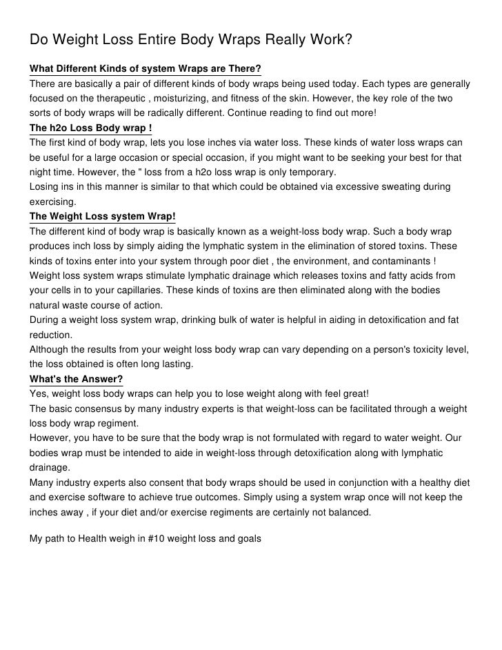 detox tea weight loss targets