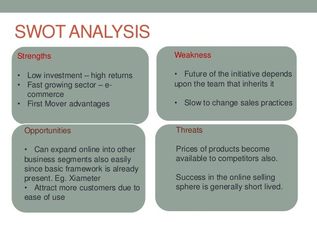 xiameter swot Superior customer value in new economy - free ebook download as pdf file (pdf), text file (txt) or read book online for free.