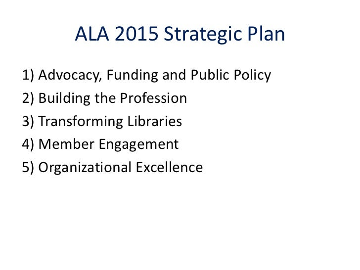 Working for the future of the Association : success stories of ALA the American Library Association Slide 2