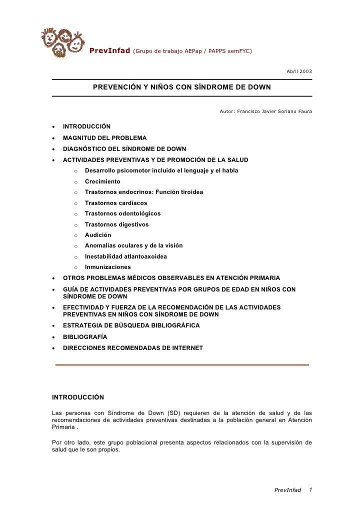 PrevInfad       (Grupo de trabajo AEPap / PAPPS semFYC)                                                                   ...