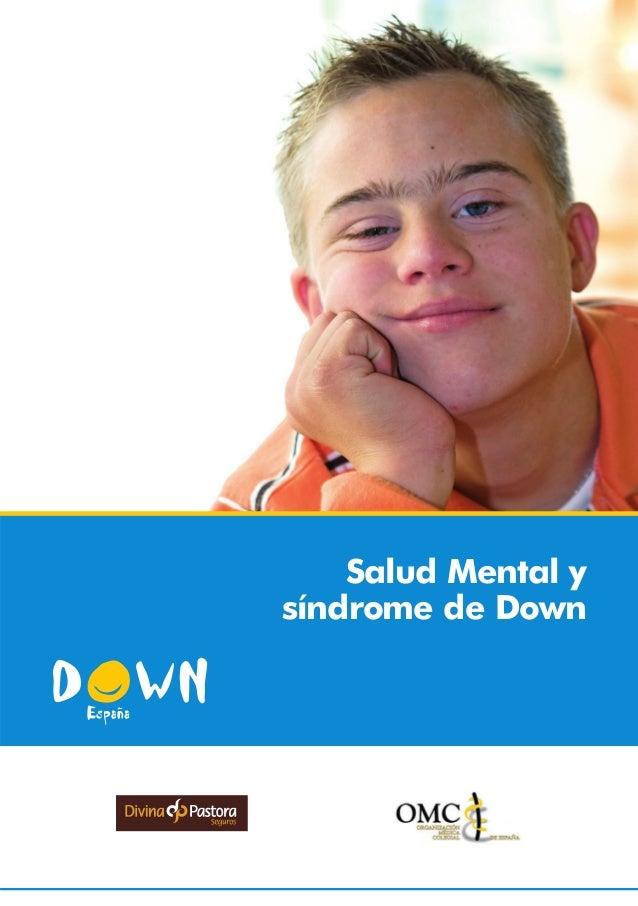 Salud Mental ysíndrome de Down