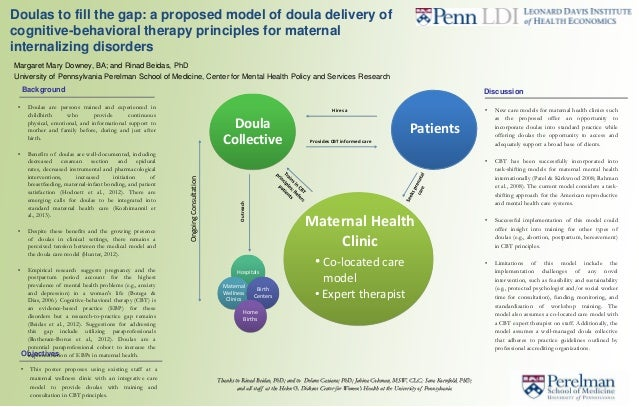• This poster proposes using existing staff at amaternal wellness clinic with an integrative caremodel to provide doulas w...