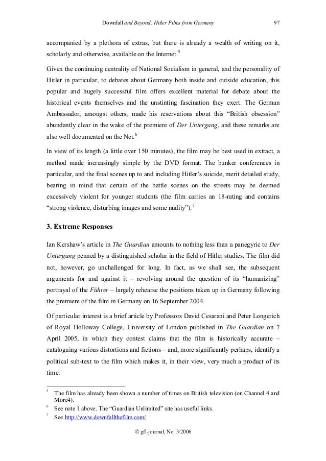 psychology of hitler essay