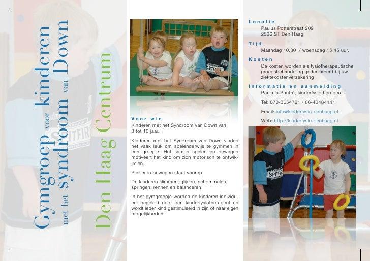 Locatie     met het syndroom van Down Gymgroep voor kinderen                                                              ...
