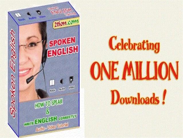 SPOKEN ENGLISH EBOOKS PDF DOWNLOAD