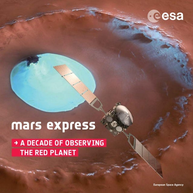 mars express → a decade of observing  the red planet